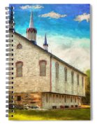 Centennial Barn Spiral Notebook