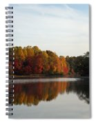 Centennial Lake Autumn - Fall Dressing Spiral Notebook