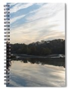 Centennial Lake Autumn - Great View From The Bridge Spiral Notebook