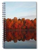 Centennial Lake Autumn - In Full Autumn Bloom Spiral Notebook