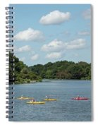 Centennial Lake Kayaks Spiral Notebook