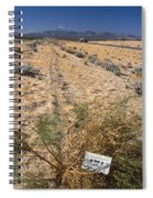 Center Divider - Hwy 395 Spiral Notebook