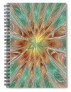 Center Hot Energetic Explosion Spiral Notebook