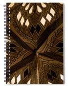 Center Of Star  Spiral Notebook