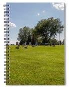Center Ridge Cemetery Spiral Notebook