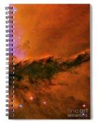 Center - Triptych - Stellar Spire In The Eagle Nebula Spiral Notebook