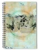 Centered Within Chaos Spiral Notebook