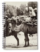 Central Asian Travelers Spiral Notebook