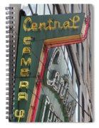 Central Camera Spiral Notebook