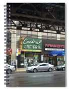 Central Camera On Wabash Ave  Spiral Notebook