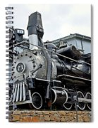 Central City Locomotive Spiral Notebook