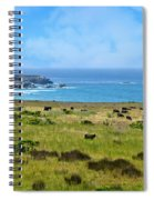 Central Coast Panorama - Hwy 1 Spiral Notebook
