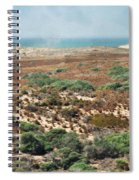 Central Coast Sand Dunes II Spiral Notebook