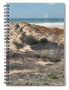 Central Coast Sand Dunes Spiral Notebook