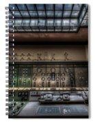 Central Control  Spiral Notebook