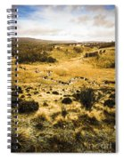 Central Highlands Of Tasmania Spiral Notebook