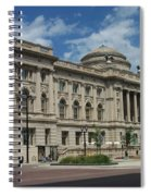 Central Library Milwaukee Full View Spiral Notebook