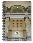 Central Library Milwaukee Interior Spiral Notebook