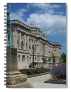 Central Library Milwaukee Street View Spiral Notebook