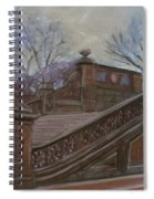 Central Park Bethesda Staircase Spiral Notebook