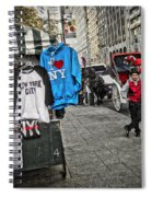 Central Park Carriage Horse Spiral Notebook