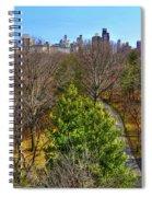 Central Park East Skyline Spiral Notebook