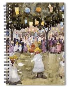 Central Park  New York City  July Fourth  Spiral Notebook