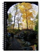 Central Park North Woods In The Fall Spiral Notebook