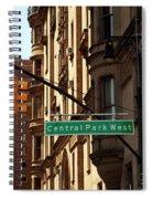 Central Park West Spiral Notebook