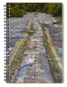 Centralia Graffiti Highway Spiral Notebook
