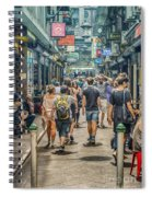 Centre Place Bustle Spiral Notebook