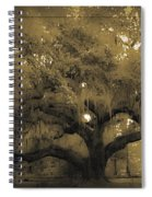 Centurion Oak Spiral Notebook