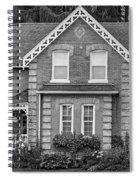 Century Home - Bw Spiral Notebook