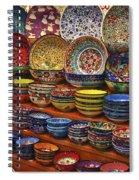 Ceramic Dishes Spiral Notebook