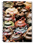 Ceramic Teapots Spiral Notebook
