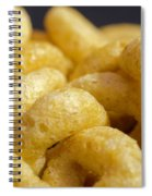 Cereal O's Spiral Notebook