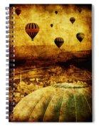 Cerebral Hemisphere Spiral Notebook