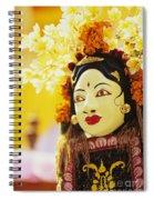 Ceremonial Mask Spiral Notebook