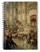 Ceremonial Reception Spiral Notebook
