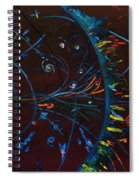 Cern Atomic Collision  Physics And Colliding Particles Spiral Notebook