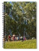 Cerro De La Cruz - Antigua Guatemala Hdr Iv Spiral Notebook