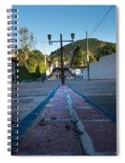 Cerro De Las 3 Cruces - Apaneca 4 Spiral Notebook