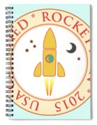Certified Rocket Man Spiral Notebook