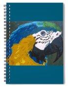 Cerulean Beauty Spiral Notebook
