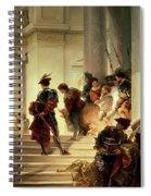 Cesare Borgia Leaving The Vatican Spiral Notebook