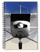 Cessna 152 Flying High Spiral Notebook