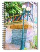 Cest La Vie Spiral Notebook