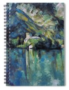 Cezanne: Annecy Lake, 1896 Spiral Notebook