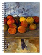Cezanne: Apples & Biscuits Spiral Notebook