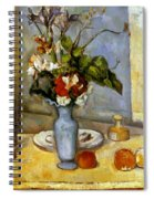 Cezanne: Blue Vase, 1885-87 Spiral Notebook